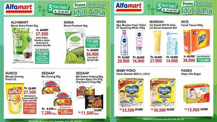 Cek Katalog Promo Alfamart Hari Ini 19 Juli 2021, Beras, Minyak Goreng, Popok, Sabun Mandi Murah