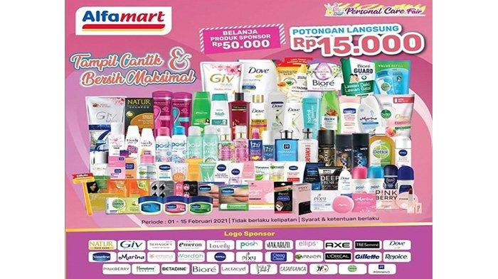 Promo Alfamart mendapatkan potongan langsung Rp 15.000.