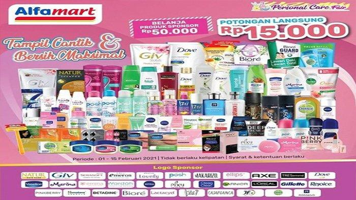 Promo Alfamart Personal Care Fair.