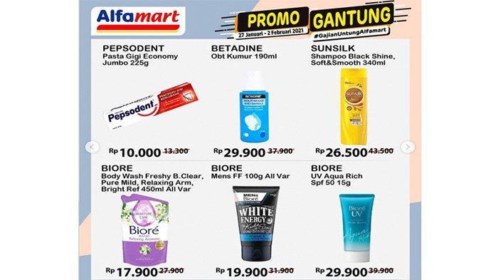 Promo Alfamart, Jangan Lewatkan Kesempatan Promo Alfamart Hari Ini, Promo Gantung hingga 2 Februari