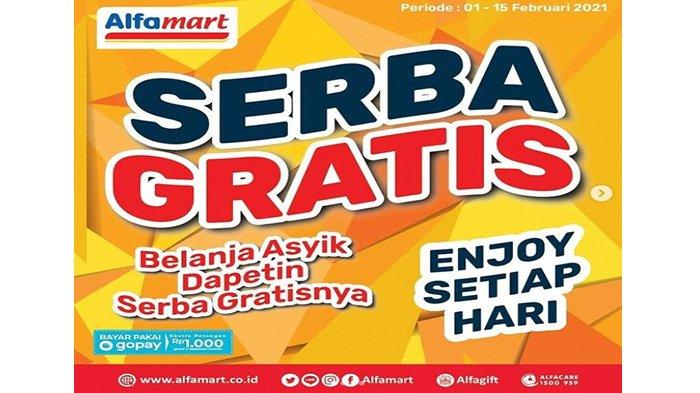 Promo Alfamart Promo Serba Gratis terbaru.