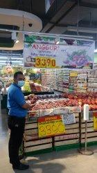 PROMO BUAH, Anggur Red Globe Hanya Rp 33.900 Per Kilogram di Hypermart Mal SKA