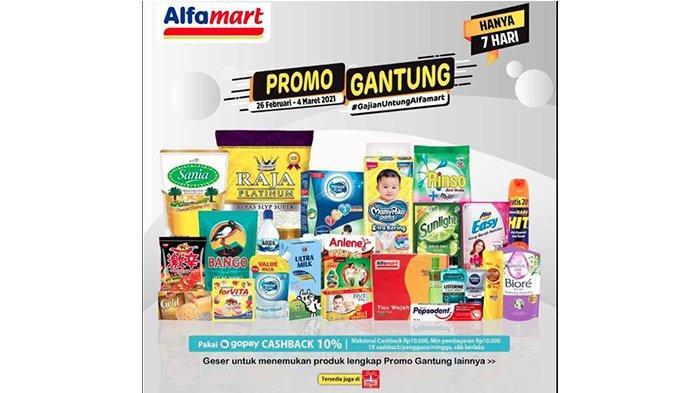 Promo Alfamart Hari Ini Senin 1 Maret 2021, Promo Beras, Minyak Goreng hingga Popok, Cek Daftarnya