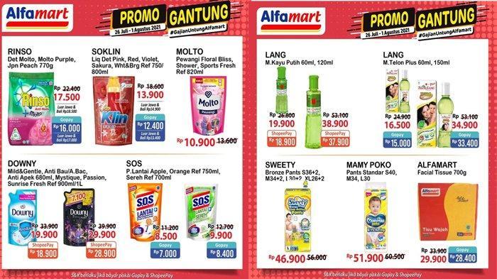 Katalog Promo Alfamart Gantung Hari Ini, Harga Hemat Popok Bayi, Sabun hingga Deterjen