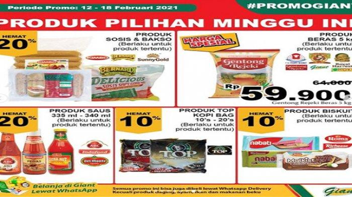 Promo Giant untuk berad harga murah berkualitas.