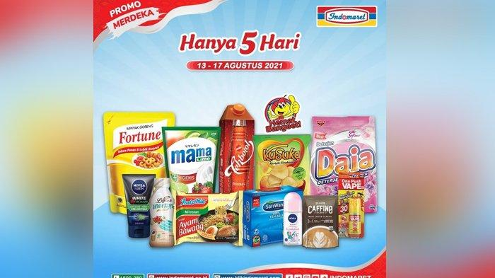 Katalog Promo Indomaret Hari Ini 13 Agustus 2021, Minyak Goreng, Beras, Gula hingga Telur Promo