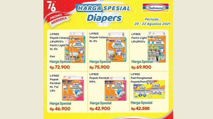 promo Harga Spesial Baby Diapers & Others Diapers Indomaret