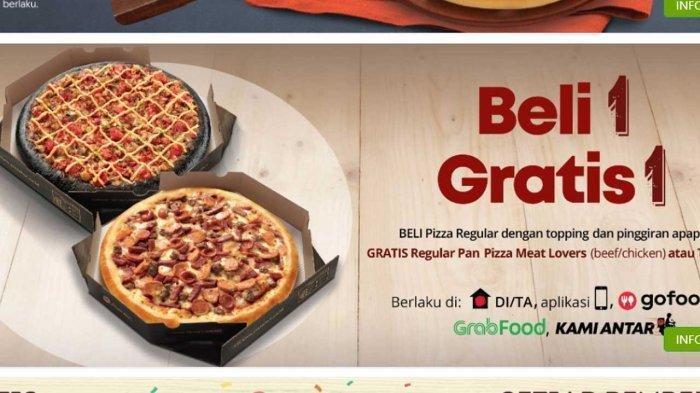 Promo Hari Ini Selasa 29 September 2021, Promo Pizza Hut Beli 1 Gratis 1 & Makan Hemat Rp 33.000