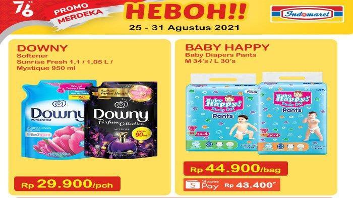 Promo Heboh Indomaret 25 hingga 31 Agustus 2021