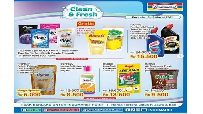 Promo Indomarer Cleam & Fresh
