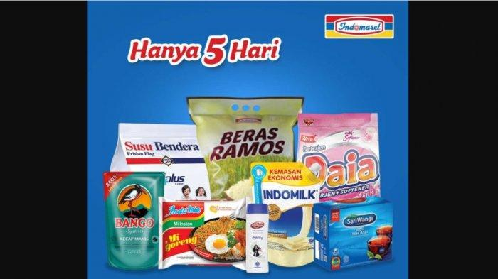 Promo Indomaret Hari Ini, Diskon Aneka Popok Anak, Sampo, Beras hingga Sabun, HEMAT BANGET!