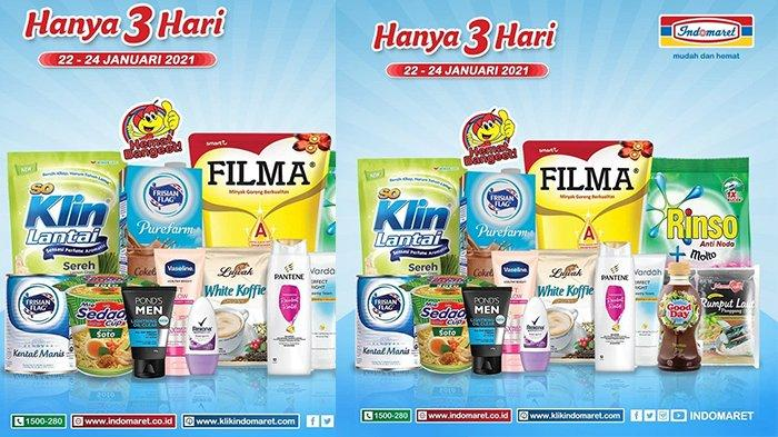 Promo Indomaret Hari Ini, Minyak Goreng, Beras 5 Kg, Sabun Cuci hingga Popok Anak Turun Harga