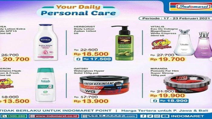 Promo Indomaret, Cek Promo Super Hemat dari Indomaret.