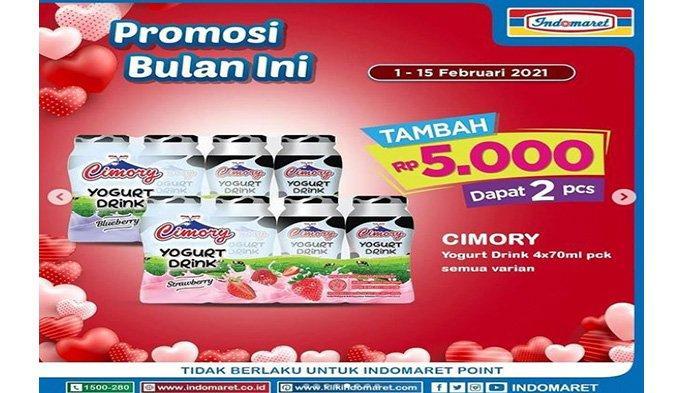 Promo Indomaret Cimory