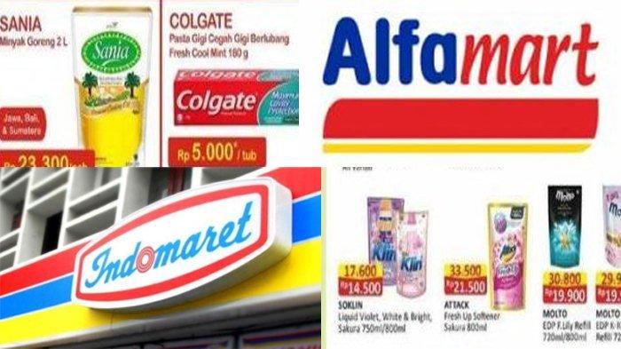 Diskon Alfamart dan Promo Indomaret Hari ini: Ada Diskon Produk Wardah hingga Wipol