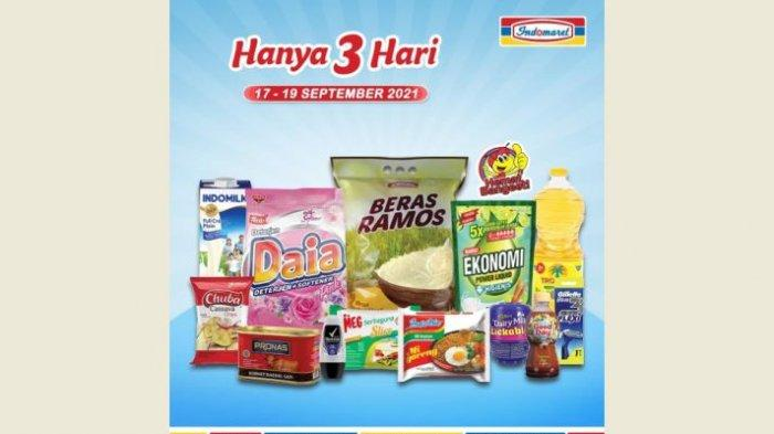 Promo Indomaret Hanya 3 Hari, Minyak Goreng, Telur hingga Beras Lagi Diskon Bund!