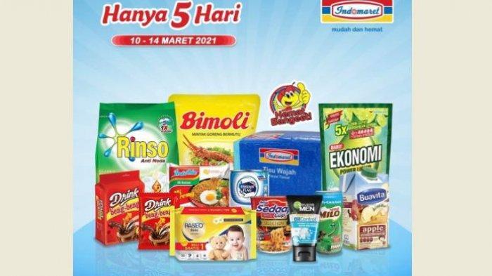 Promo Indomaret Hari Ini, Minyak Goreng dan Popok Bayi Harga Hemat, Buruan Bund!