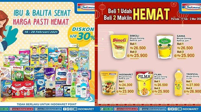 Promo Indomaret Hari Ini, Minyak Goreng Lagi Promo, Beli 2 Makin Hemat, Buruan Bund!