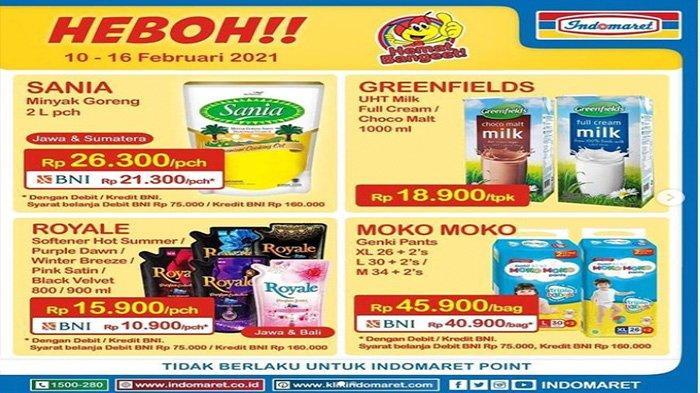 Promo Indomaret, Harga Minyak Goreng Murah Hingga Akhir Pekan Ini, Ayo Buruan