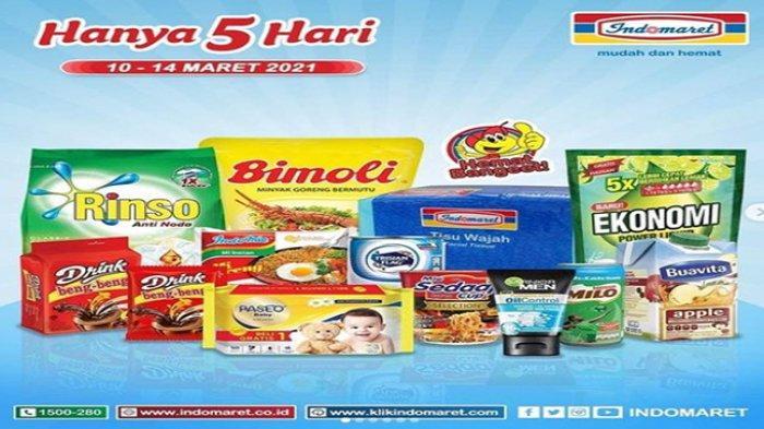 PROMO INDOMARET HARI INI, Minyak Goreng Murah, Harga Detergen Murah, Berlaku Hingga 16 Maret