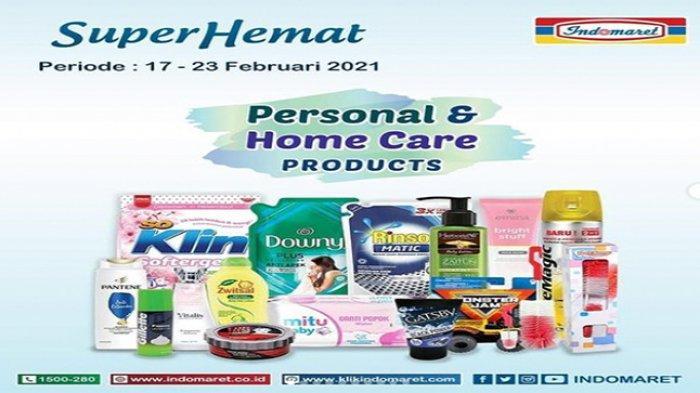 Cek Promo Indomaret Hari Ini, Super Hemat Kebutuhan Rumah Tangga, Promo Indomaret hingga 16 Februari