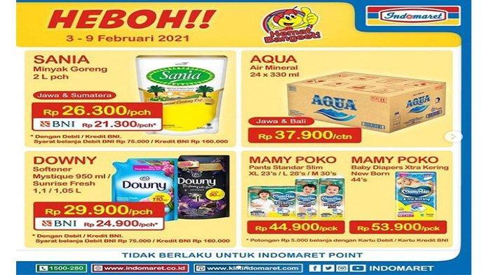 Promo Indomaret, minyak goreng murah.