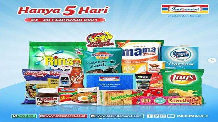 HARI INI Terakhir, CEK Katalog Promo Belanja di Indomaret