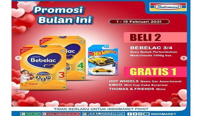 Promo Indomaret susu Bebelac.
