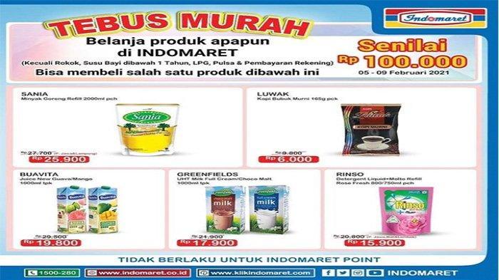 Promo Indomaret Tebus Murah Minyak Goreng.
