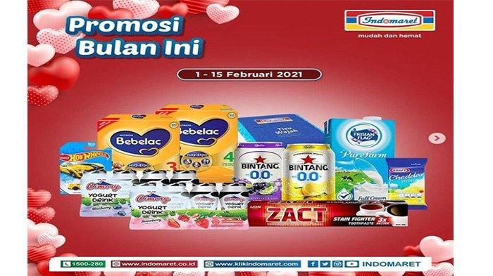 Promo Indomaret Terbaru, Ragam Susu Bayi, Odol Hingga Sabun dan Shampo Berlaku Hingga 15 Februari