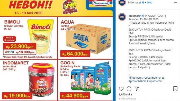 KATALOG Promo dan Diskon Indomaret, Alfamart Promo JSM dan Idul Fitri, Diskon Khusus Minyak Goreng