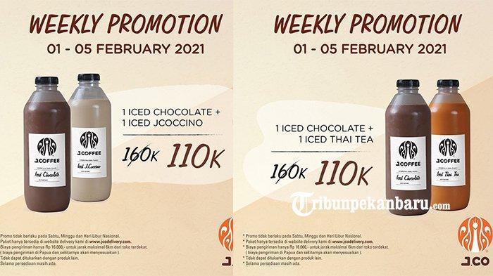 Promo JCO Hari Ini, 2 Botol Jcoffee 1 Liter Hanya Rp 110.000, Hemat Cuy!