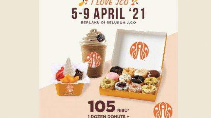 Promo JCO Mulai Besok 5 April, Ada Paket Promo 105 Ribu dan 52 Ribu, Jangan Sampai Lepas