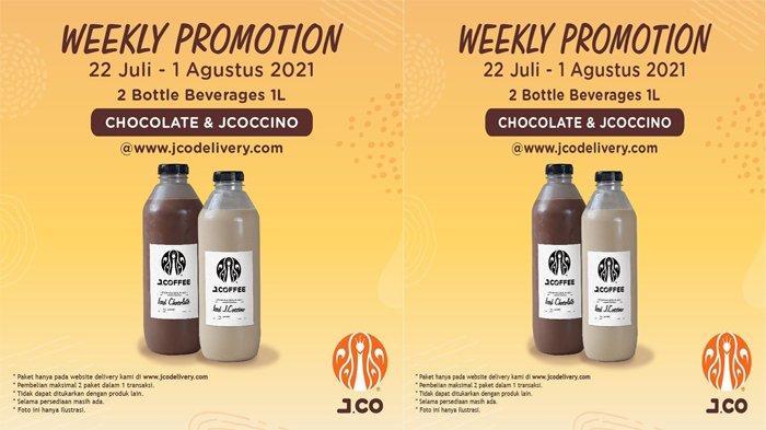Promo JCO Hari Ini, Beli 2 botol JCOFFEE Harga Spesial Hanya Rp.110,000, Hemat!