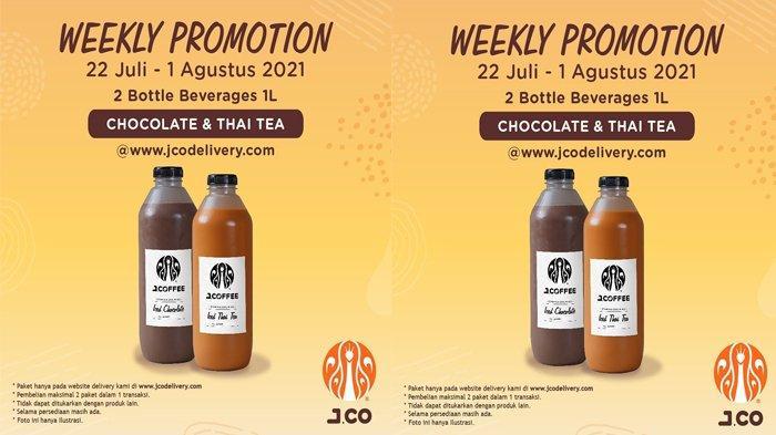 promo JCO di akhir pekan lewat promo Weekly Promotion