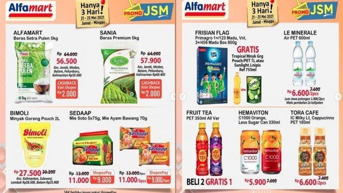PROMO Alfamart Hari Ini Minggu 23 Mei, Promo JSM Minyak Goreng, Popok hingga Deterjen