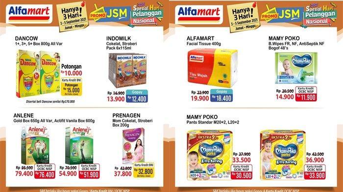 Promo JSM Alfamart Periode 3 - 5 September 2021