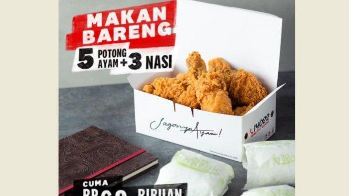 Promo KFC Hari Ini, Ada Paket Makan Bareng hingga Kombo Ramadhan KFC, Cocok untuk Bukber!
