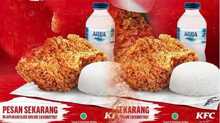 Promo KFC Hari Ini di Awal Bulan Agustus 2021, Gratis Naztart Setiap Pembelian Big Box Value