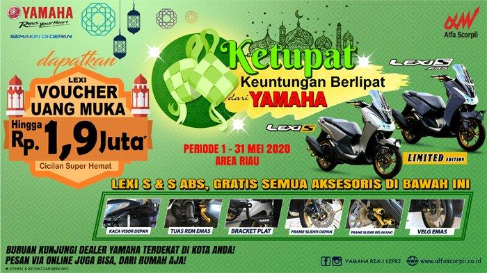 Promo Menarik Yamaha Alfa Scorpii - THR KETUPAT