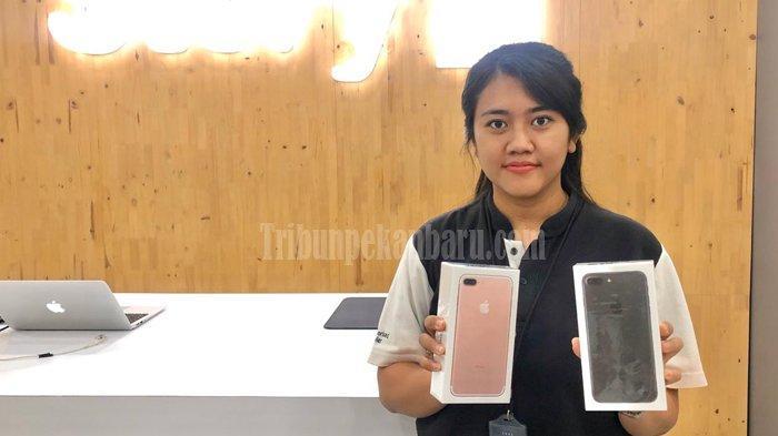 PROMO Pekan Ini Beli Smartphone, iPhone 7 Plus Ada Promo Spesial Price di Story-i Mal SKA Pekanbaru