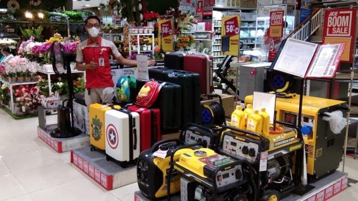 PROMO Khusus Pilkada, Konsumen Dapat Potongan Harga Rp150 Ribu Belanja di Ace Hardware Mal Pekanbaru