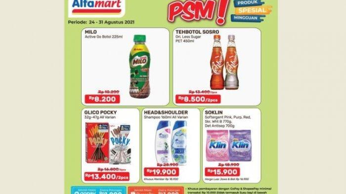 Promo Alfamart Hari Ini 25 Agustus 2021, Shampo hingga Deterjen Lagi Diskon Bund!
