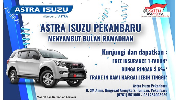 Program Seru, Sambut Ramadhan Bersama Isuzu Pekanbaru