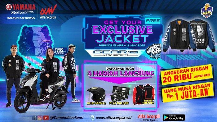 Buruan, Ada Promo Ramadhan Ekstra, Dapatkan Yamaha Gear 125