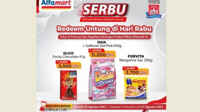 DISKON Belanja di Alfamart Hari Ini  Kamis 26 Agustus: Banyak Kebutuhan Harga Promo