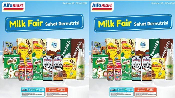 Promo Milk Fair Alfamart