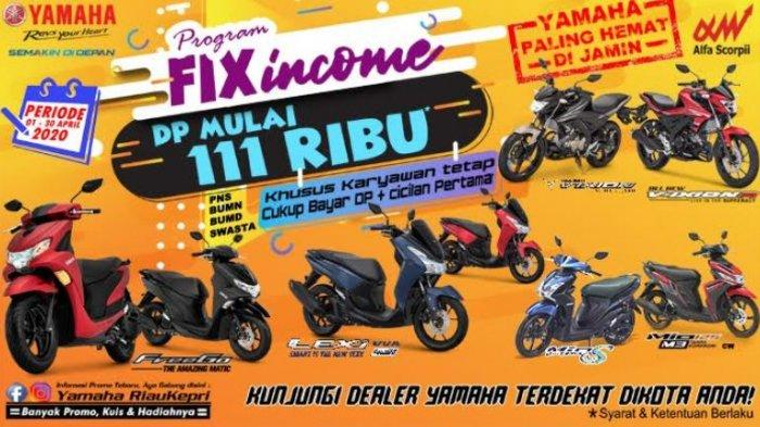 Hanya Dengan Rp 111 Ribu, Bisa Dapat Sepeda Motor Baru Yamaha
