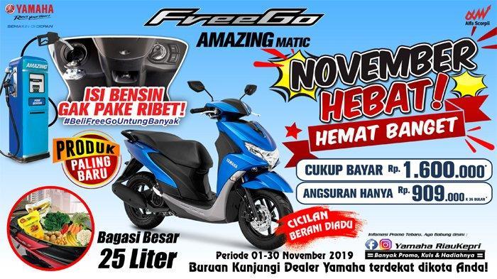 Promo Menarik Yamaha FreeGo, 'November Hebat, Hebat Banget'