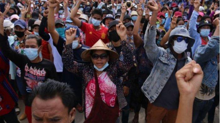 Junta Militer Semakin Haus Darah, Pemberontak Malah Dianggap Pahlawan Bagi Rakyat Myanmar